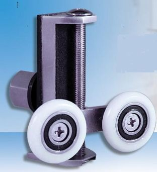 UniWheel Universal Shower Door Runner